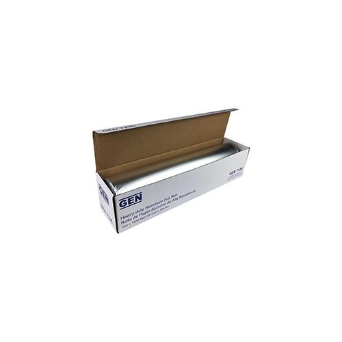 "Heavy-Duty Aluminum Foil Roll, 18"" x 1,000 ft, 2/Carton"