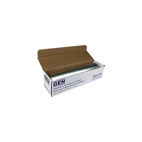 """Standard Aluminum Foil Roll, 12"""" x 500 ft, 6/Carton"""
