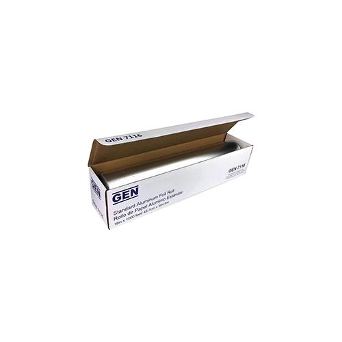 """Standard Aluminum Foil Roll, 18"""" x 1,000 ft, 4/Carton"""