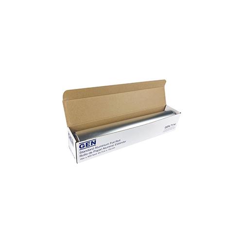 """Standard Aluminum Foil Roll, 18"""" x 500 ft, 4/Carton"""