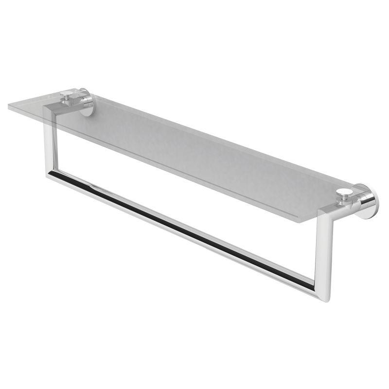 24 Shelf With Towel Bar *KUBIC CP