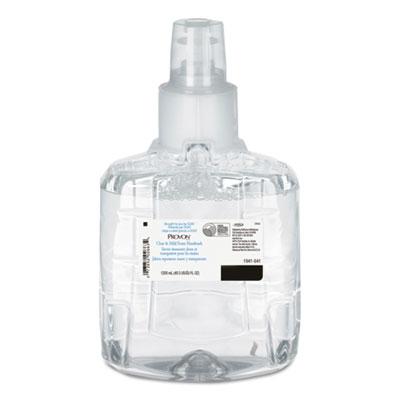 Clear & Mild Foam Hand Wash, 1200mL Refill, Unscented, 2/Carton