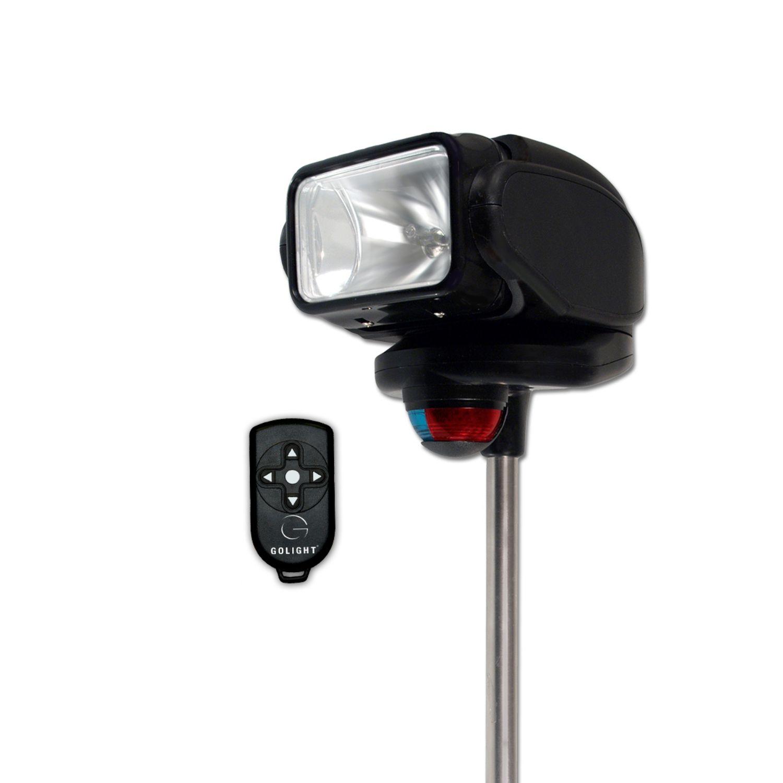 Gobee Halogen Stanchion Mount w Nav Lights Wireless Remote