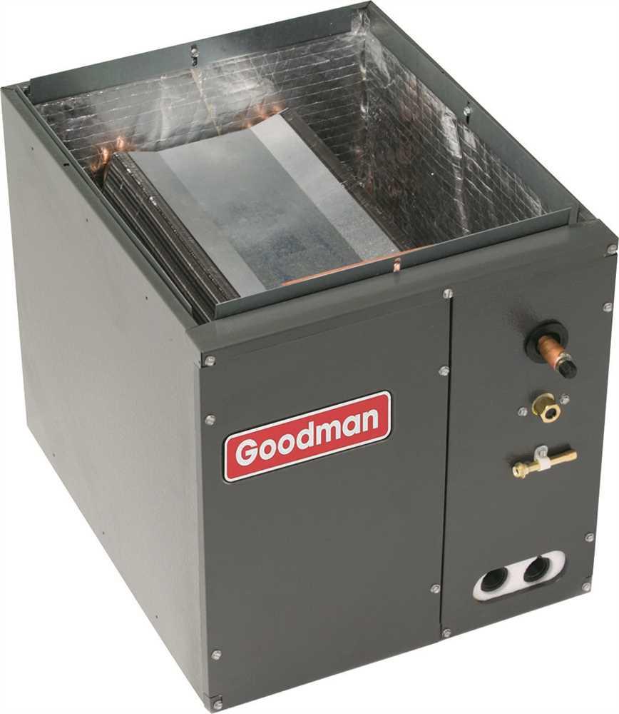GOODMAN EVAPORATOR COIL FULL-CASED 1.5 - 2.0 TON UPFLOW OR DOWNFLOW