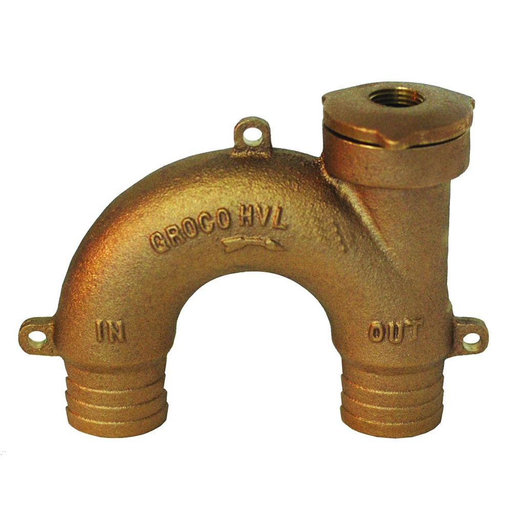 """GROCO Bronze Vented Loop - 2"""" Hose"""