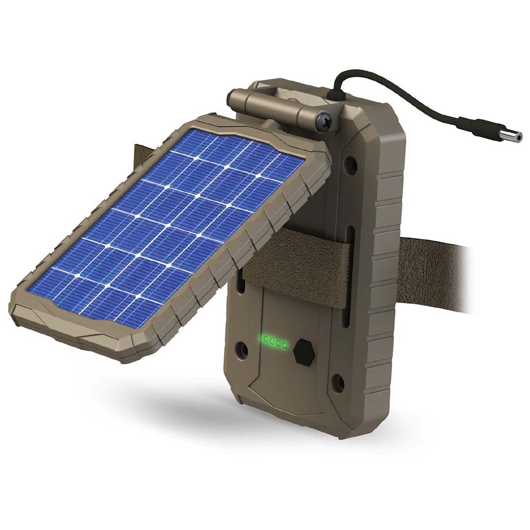 HME Trail Camera Solar Power Panel - 1000 mAh