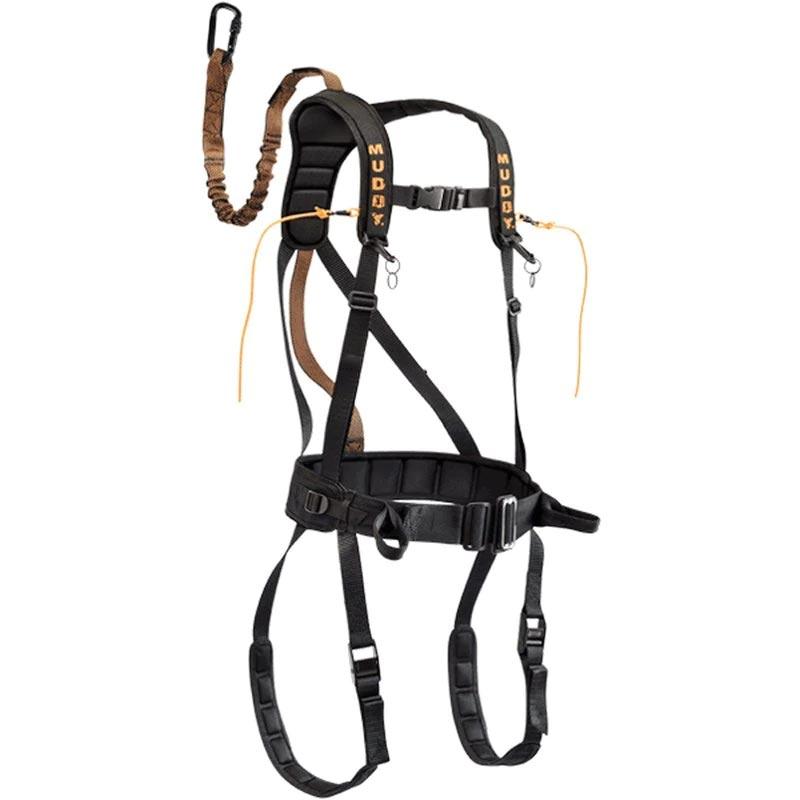 Muddy Safeguard Harness Large - Black