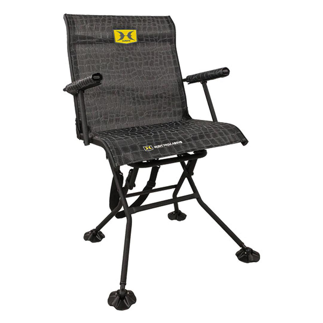 Hawk Stealth Spin Blind Chair Bone Collector