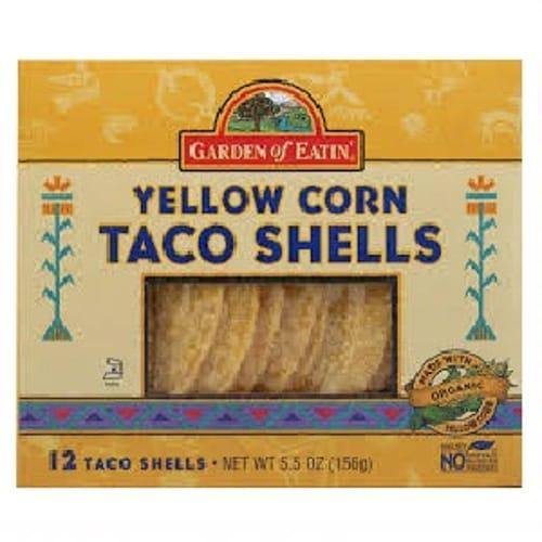 Garden Of Eatin Yellow Corn Taco Shells (12x55 Oz)