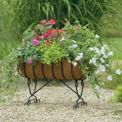 Blacksmith Cradle Planter