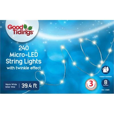 GT 39.2'L Micro 240 LED White