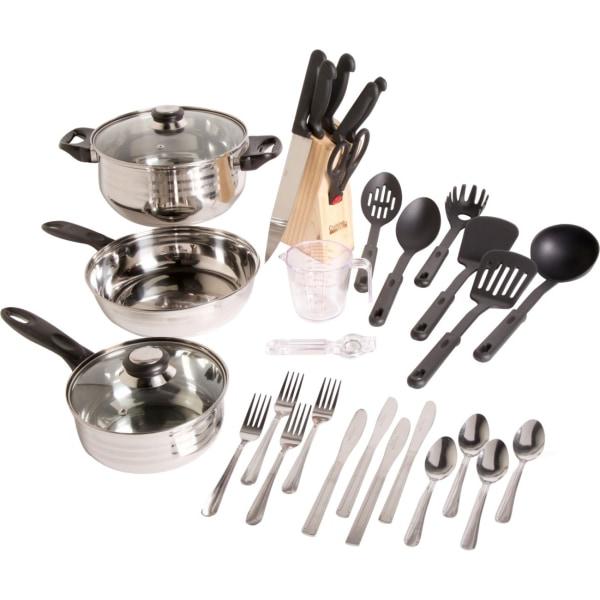GH Lybra SS Cookware Set 32pc