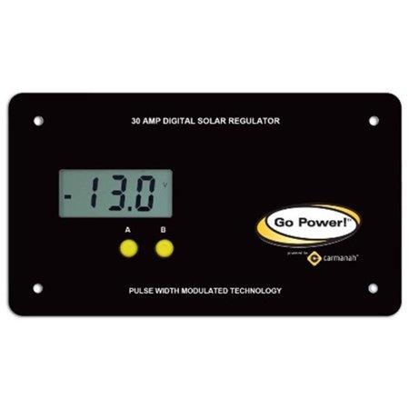 GP-PWM-30-UL 30 AMP PWM SOLAR CONTROLLER W/BLUETOOTH CONNECTIVITY, USB PORT & UL CERTIFICATION