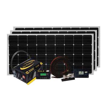 SOLAR-EXTREME: 570 WATT SOLAR & IC-3000 WATT INVERTER CHARGER KIT