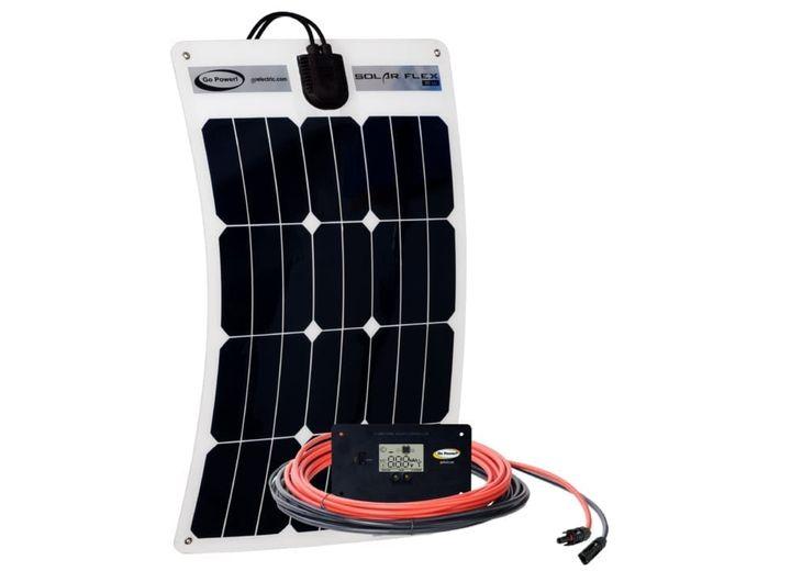 GP-FLEX-35: 35 WATT FLEXIBLE SOLAR KIT W/10 AMP CONTROLLER