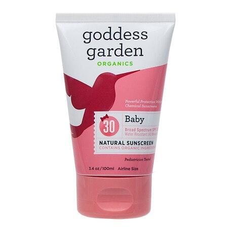 Goddess Garden Organic Sunscreen Baby Natural SPF 30 Lotion (1x34 Oz)
