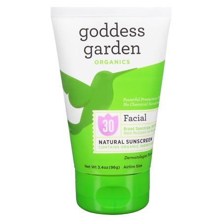 Goddess Garden Organic Sunscreen Facial SPF 30 Lotion (1x34 Oz)