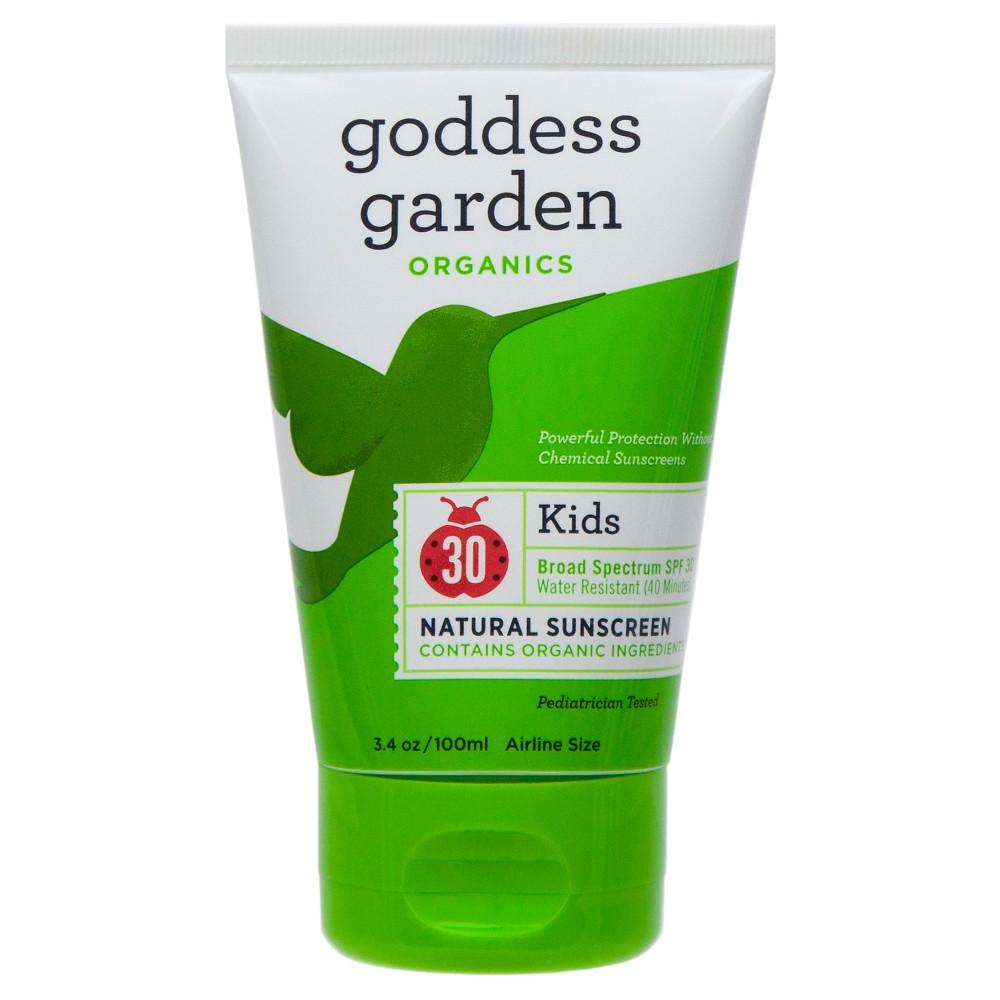 Goddess Garden Sunscreen Organic Sunny Kids SPF 30 (34 fl Oz)