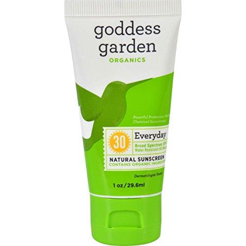 Goddess Garden Organic Sunscreen Counter Display Tube 1 Oz (20 Pack)