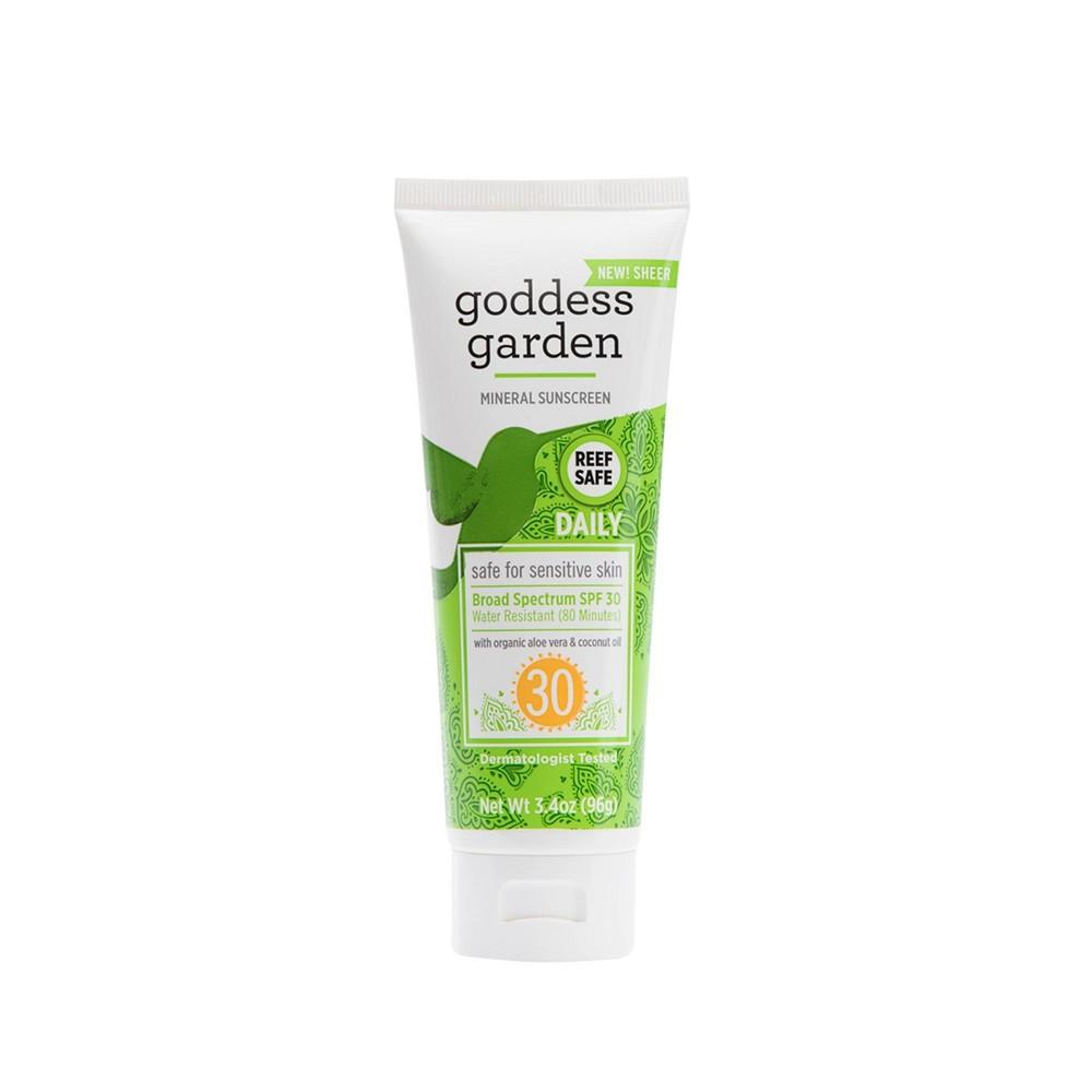 Goddess Garden Organic Sunscreen Natural SPF 30 Lotion (1x34 Oz)