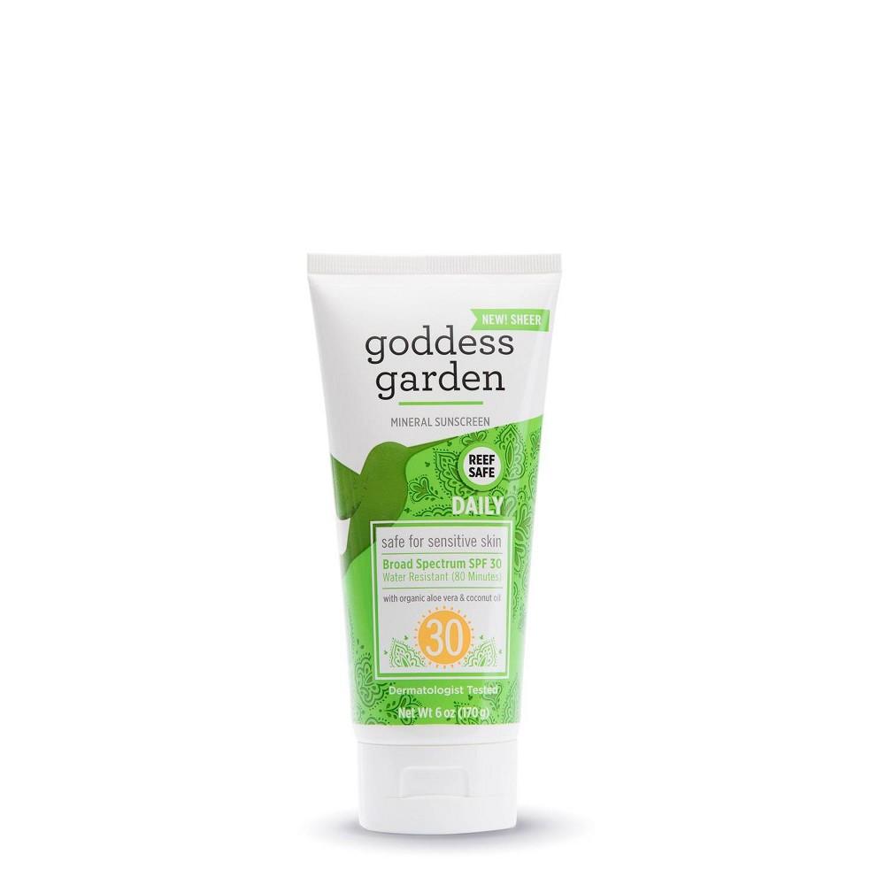 Goddess Garden Sunscreen Organic Natural Sunny Body SPF 30 (1x6 Oz)