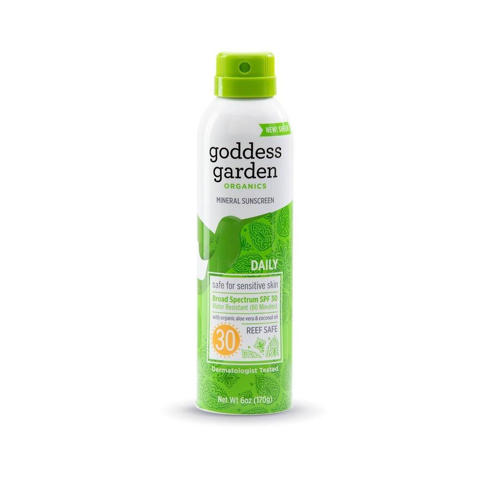 Goddess Garden Organic Sunscreen Sunny Body Natural SPF 30 Continuous Spray (1x6 Oz)