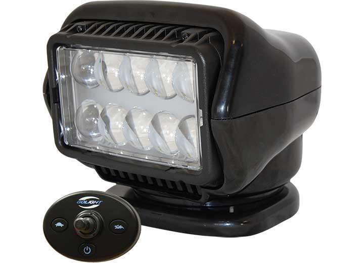 STRYKER 12 VOLT LED WIRED DASH REMOTE-BLACK
