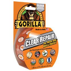 GORILLA REPAIR TAPE CLEAR 27 FOOT