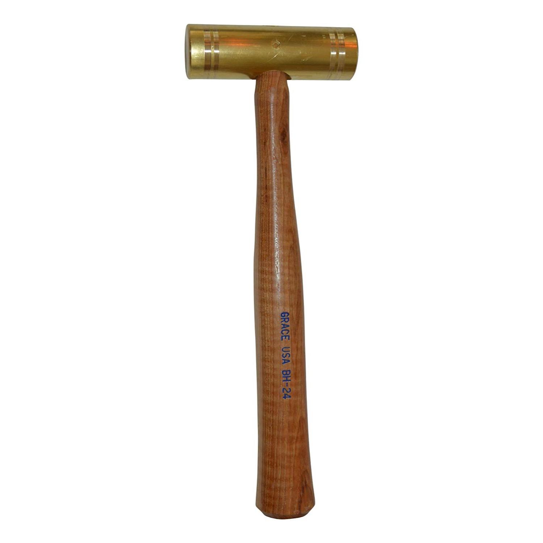 Grace USA 24 ounce Brass Hammer