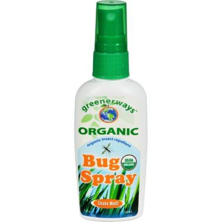 Greenerways Organic Bug Spray Organic Counter Display (18 x2 fl Oz)