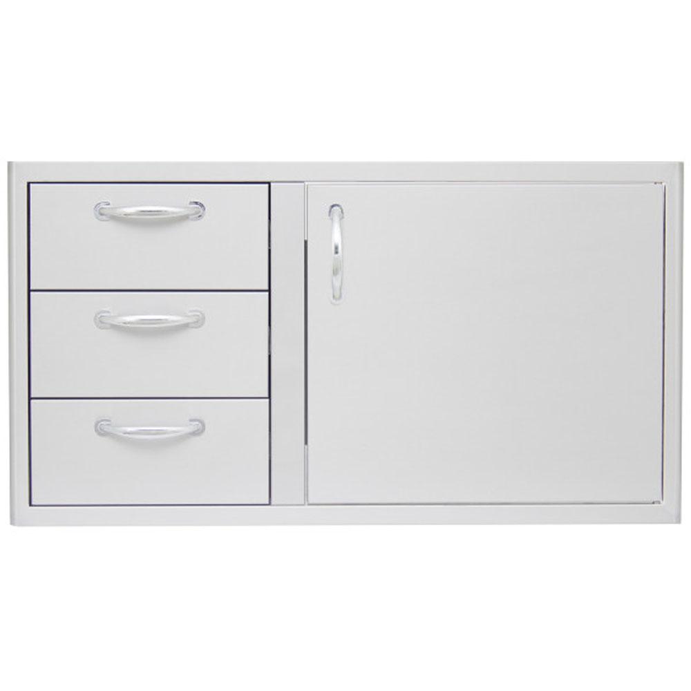 "39"" Door/Triple Drawer Dry Pantry - for 5-Burner"