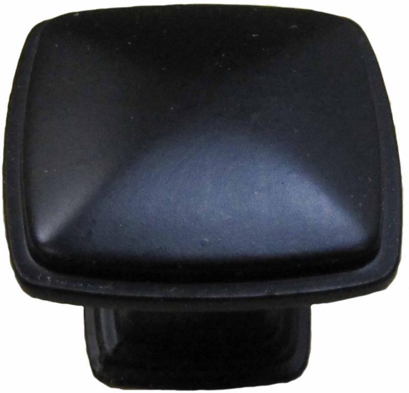 14-5299 BLACK SQUARE KNOB