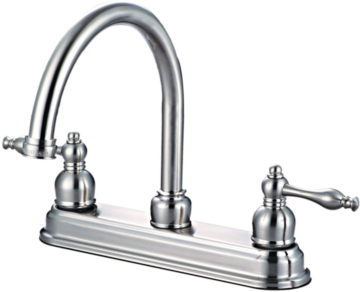 12-2757 Satin Nickel Kitchen Faucet