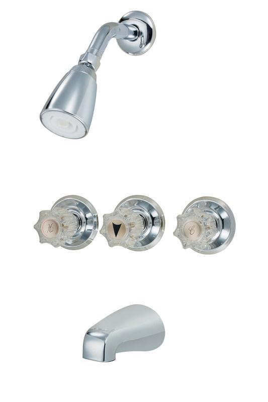 12-5499 Chrome Tub/Shower Faucet