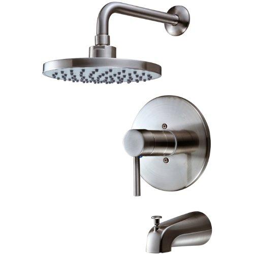 13-5627 Brushed Nickel Tub/Shower Mixer