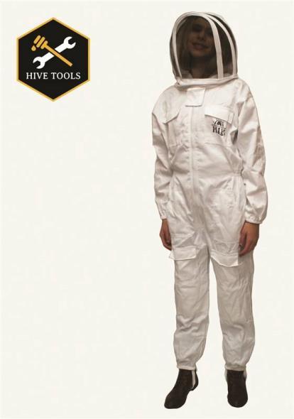 BEE SUIT FULL X-LARGE W/HOOD