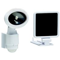 Heathco HZ-8434-WH Security Light, 120 VAC, LED