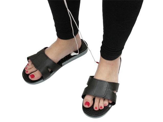 PCH Digital Pulse Massager 3 AB Black - Shoe Combo