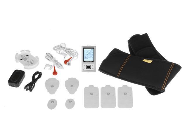 PCH Digital Pulse Massager 3 AB Silver - Belt Combo Set