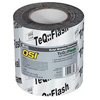 OSI 1532160 Window Flashing Tape, 9 in W x 75 ft L x 15 mil T, Black