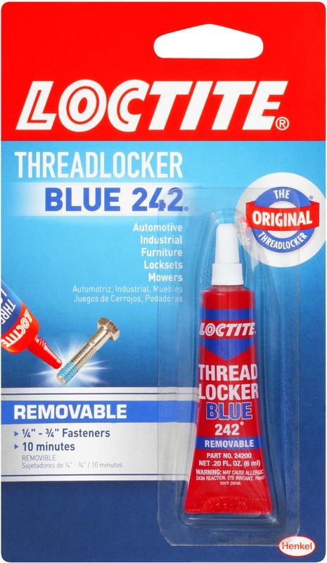 209728 6ML BLUE THREADLOCKER