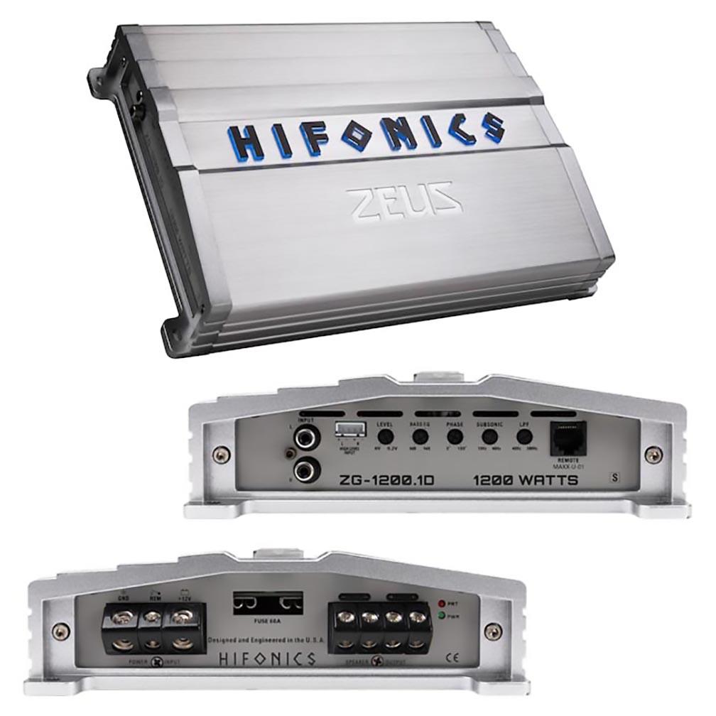 Hifonics Zeus Gamma Series 1 x 1200 Watts @ 1 Ohm Mono