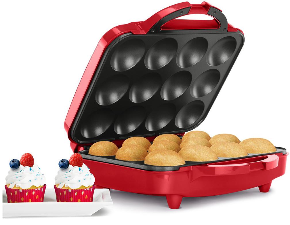 Holstein Housewares One Dozen Cupcake Maker - Red