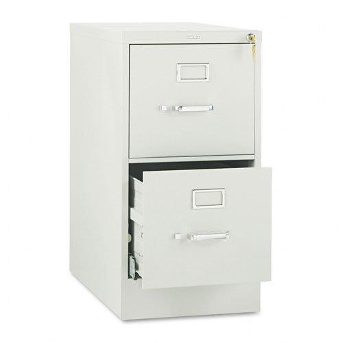 510 Series Two-Drawer Full-Suspension File, Letter, 29h x25d, Light Gray