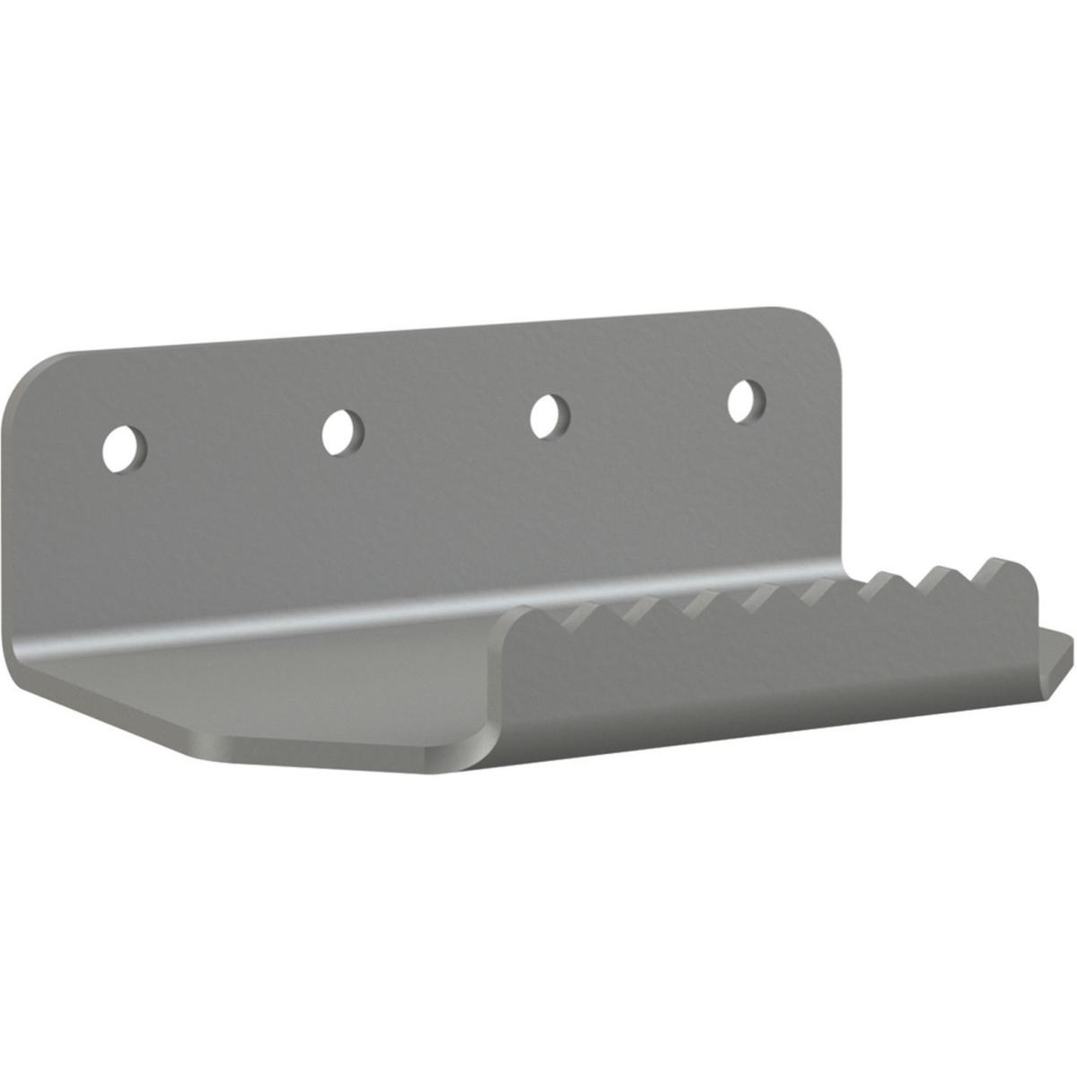 Armless Foot Pull, 5 x 3.75 x 1.5, Titanium, 5/Pack