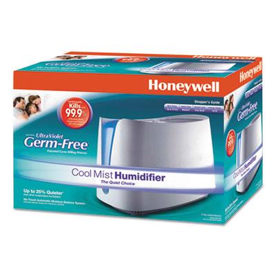 Germ Free Cool Moisture Humidifier, 1.1 gal, 17.48w x 9.37d x 11.85h, White
