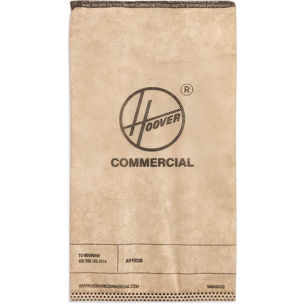 Disposable Vacuum Bags, HEPA, 10/Pack