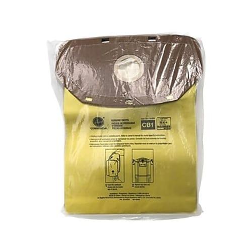 Disposable Closed Collar Vacuum Bags, Allergen CB1, 10/Pack