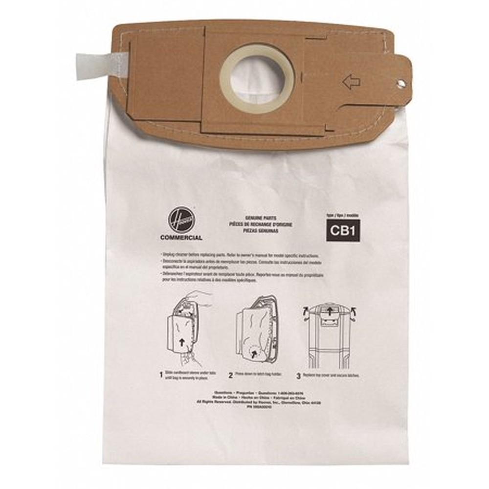 Disposable Vacuum Bags, Standard B, 10/Carton