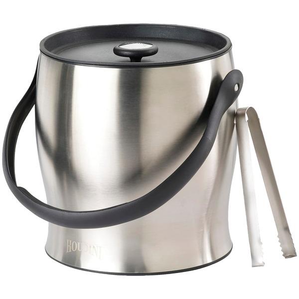 Houdini W4710T Double-Walled Ice Bucket with Tongs